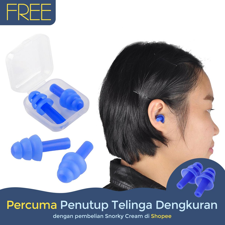 Snorky_Cream_Percuma_Penutup_Telinga_Dengkuran